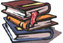 A stack of three books icon.