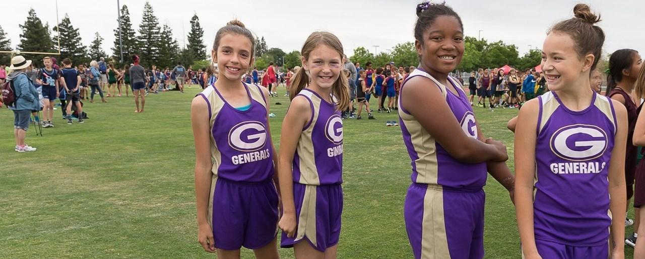Gettysburg girls track relay team
