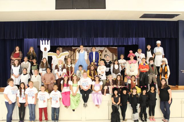 Beauty and the Beast Junior Cast